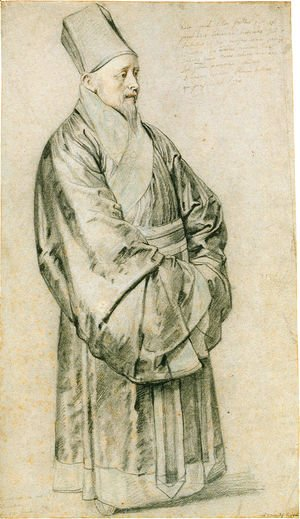 Rubens - Portrait of Nicolas Trigault S.J. in Chinese costume