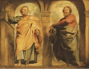Rubens - Saint Peter and Saint Paul a modello