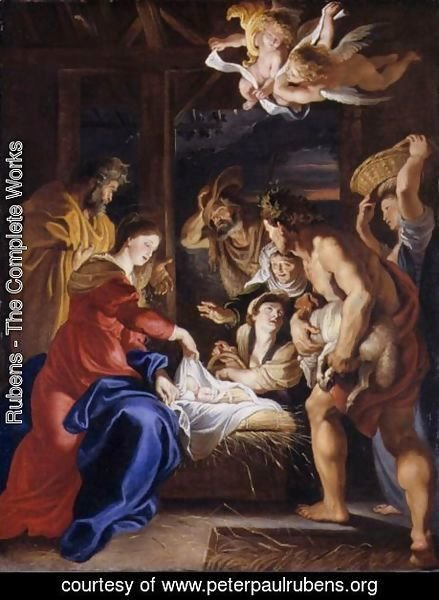 Rubens - The Nativity