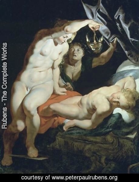 Rubens - Cupid And Psyche