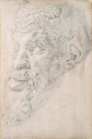 Rubens - Head Of Pan, After The Antique