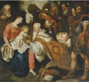 Rubens - The Adoration Of The Magi 2