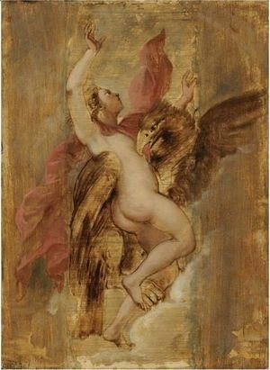Rubens - The Rape Of Ganymede