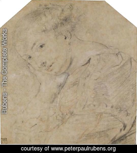 Rubens - Study Of A Young Woman (Helene Fourment)