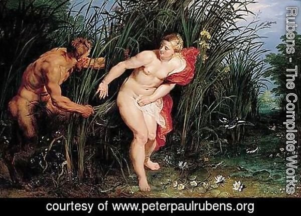 Rubens - Pan and Syrinx