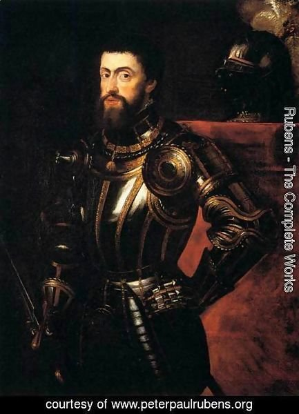 Rubens - Charles V in Armour