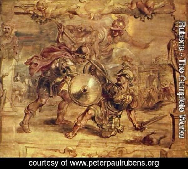 Rubens - Achilles defeated Hector