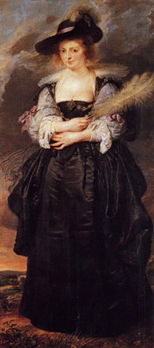 Rubens - Portrait of Helene Fourment