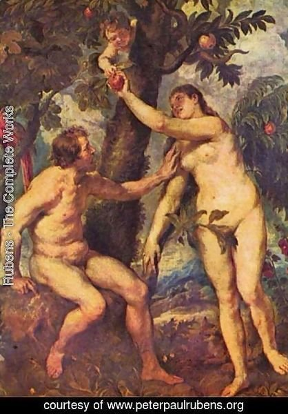 Rubens - Adam and Eve