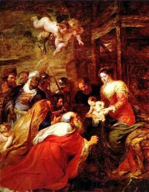 Rubens - The Adoration of the Magi 3