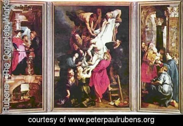 Rubens - Deposition from the Cross, Triptych, overview