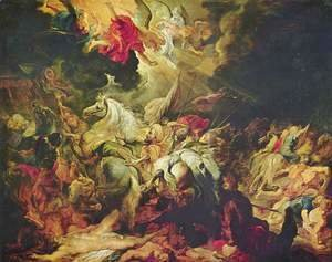 Rubens - Defeat of Sennacherib