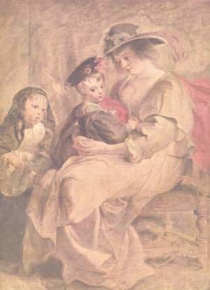 Portrait of the artist's family