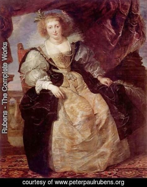 Rubens - Portrait of Helene Fourment in a wedding gown