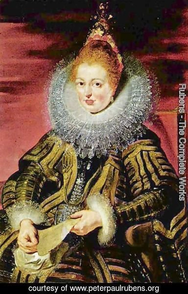 Rubens - Portrait of the Infanta Isabella Clara Eugenia regent, the southern Netherlands