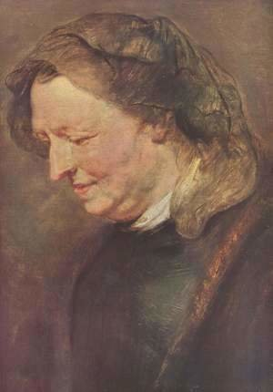 Rubens - Portrait of an old woman