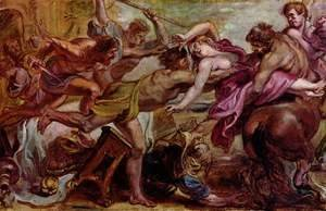 Rubens - Rape of Hippodamia