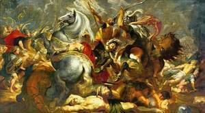 Rubens - Victory and death of the consul Decius Mus at the battle