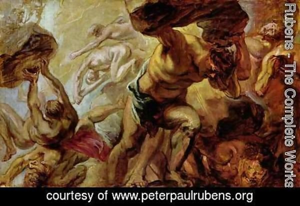 Rubens - Overthrow of the Titans