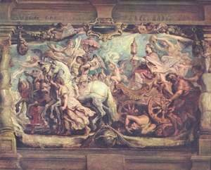 Triumph of the Church on the idolatry