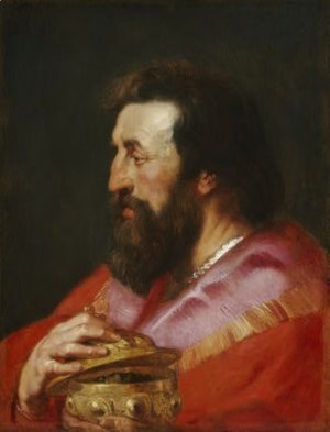 Rubens - Melchior, The Assyrian King