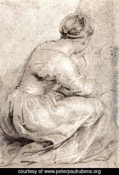 Rubens - The Girl Squatted Down