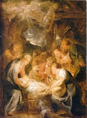 Rubens - Adoration of the Shepherds