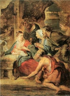 Rubens - Adoration of the Shepherds 2