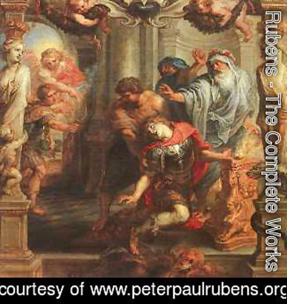 Rubens - The Death of Achilles