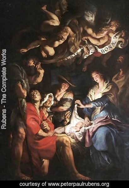 Rubens - Adoration of the Shepherds 3