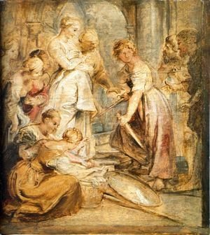 Rubens - Achilles and the Daughters of Lykomedes