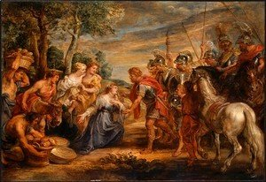 Rubens - The Meeting of David and Abigail