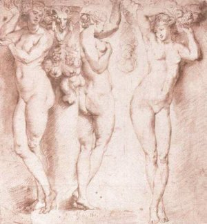 Rubens - The Three Caryatids