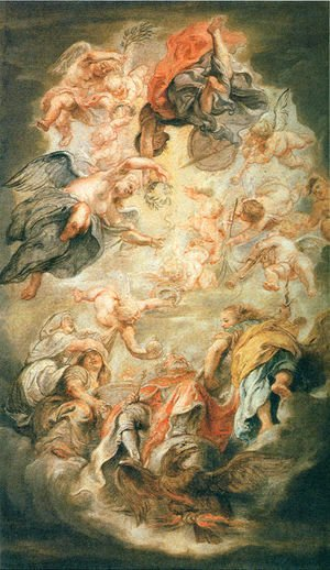 Rubens - Apotheosis of King James I