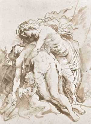 Rubens - Death of Adonis