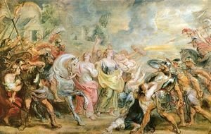 Rubens - Truce between Romans and Sabinians