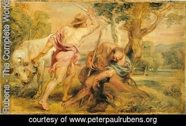 Rubens - Mercury and Argus