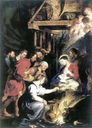 Rubens - Adoration of the Shepherds 4