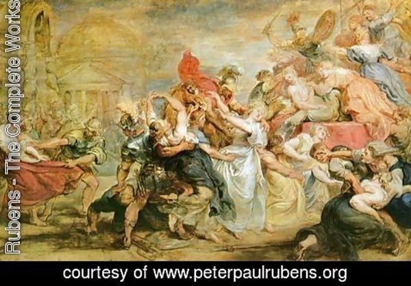 Rubens - The Rape of the Sabine Women