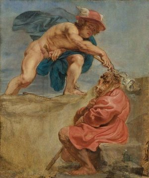 Rubens - Mercury and a Sleeping Herdsman