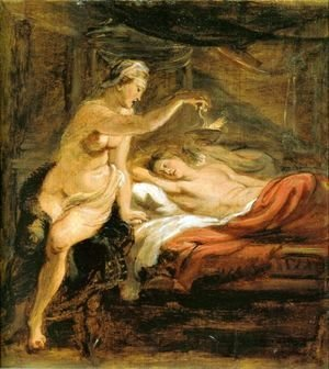 Rubens - Amor and Psyche