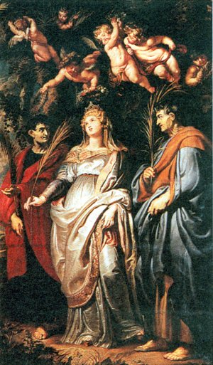 Rubens - St. Domitilla with St. Nereus and St. Achilleus