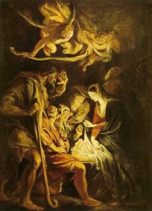 Rubens - Adoration of the Shepherds 5