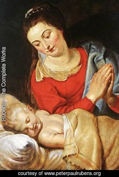 Rubens - Virgin  and  Child 4