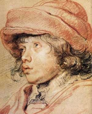 Rubens - Son Nicolas with a Red Cap