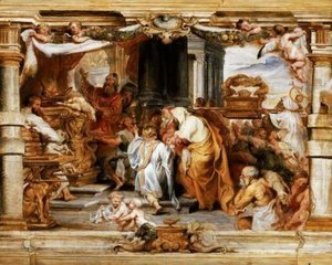 Rubens - The Sacrifice of the Old Covenant