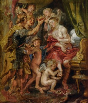 Rubens - Alexander and Roxana