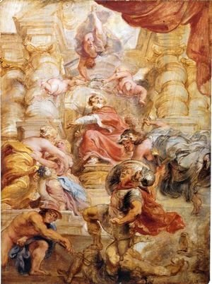 Rubens - King James I of England