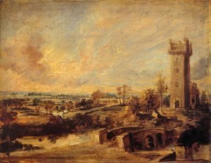 Rubens - Landscape with Tower