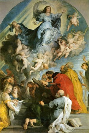 Rubens - Assumption of Virgin